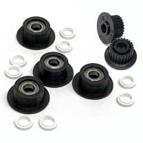 Duplex Idler Pulley/ Bearings Rebuild Kit (Replaces 655N00525) for Xerox® DC240-260, WC-7655-7675, 7755-7775, 550-570, C60/C70, C9065/C9070