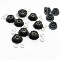 Duplex Idler Pulley/ Bearings Rebuild Kit (Replaces 655N00588) for Xerox® (Versant®) V80, V180