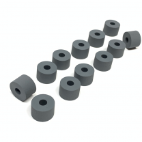 For Xerox® models: (Digital Color Press) DCP700, DCP700i, DCP770, C75, J75  Duplex Tire Kit - (12 Tires for repairing the Rolls in the Duplex Upper Chute Assembly)
