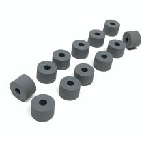 For Xerox® models: (Versant®) V80, V180, V2100, V3100,  Duplex Tire Kit - (12 Tires for repairing the Rolls in the Duplex Upper Chute Assembly)