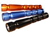 Flashlight - 4 LED Sceptor Torch, Choice of Colors, Custom Designed