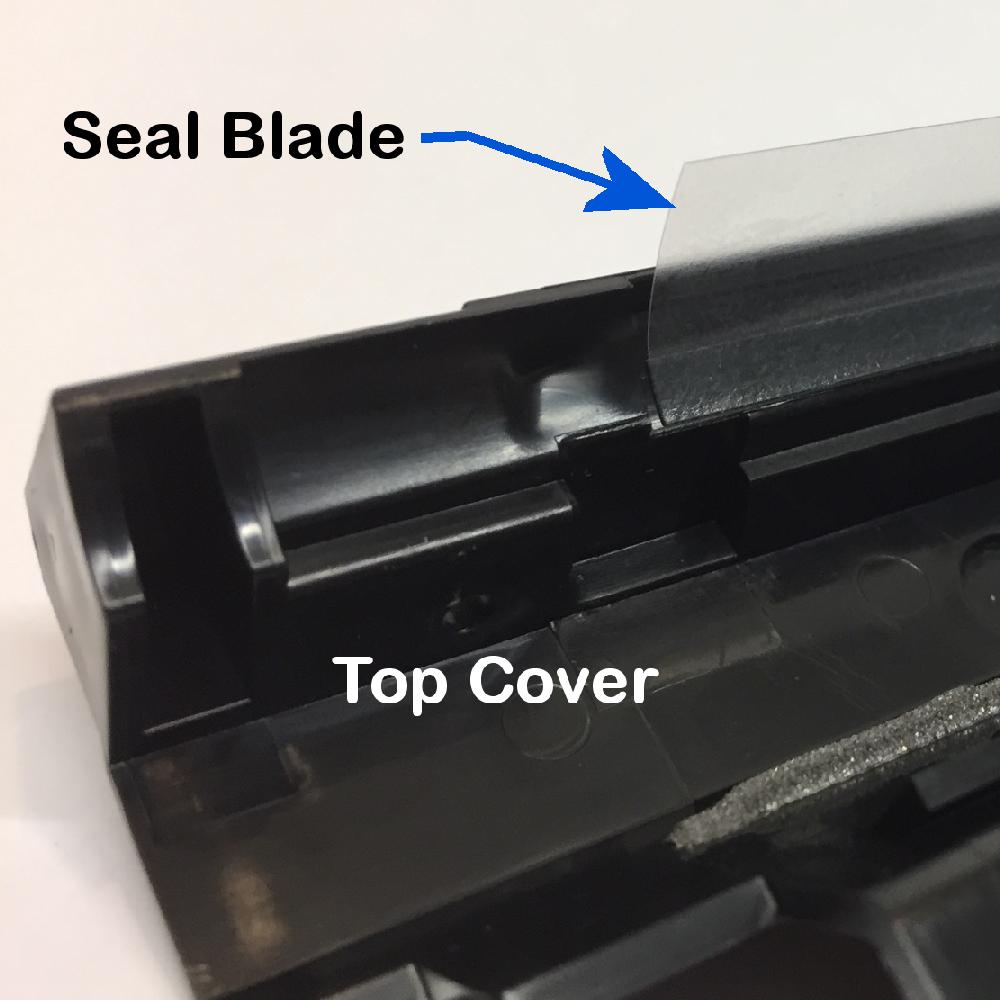 DC250 Developer Seal Blade Location 2
