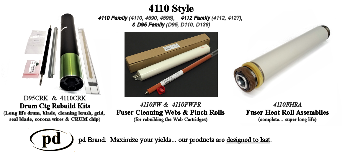 4110 Style Parts and Kits - D95/D110, 4110, 4112, etc.