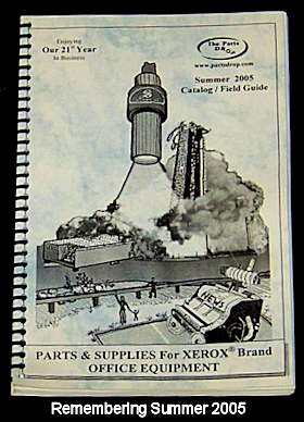 2005 Partsdrop Catalog Front Cover - Launch