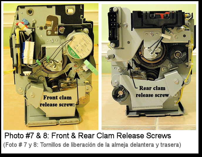 4110 Fuser Repairs Photo #7-8