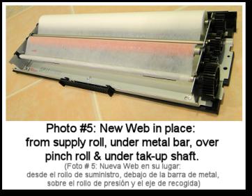 4110 Web Cartridge Rebuild Photo #5