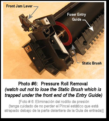 4150 Fuser Rebuild Photo #6
