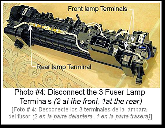 4250 Fuser Rebuild Photo #4