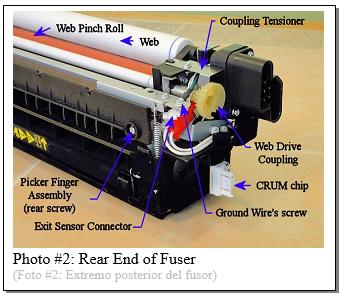 5675 Fuser Module Rebuild Photo 2