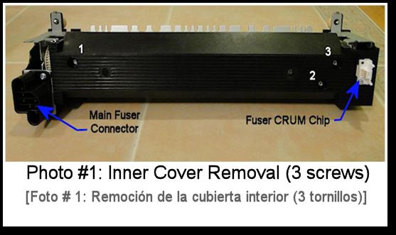 5945 Fuser Rebuild Photo #1