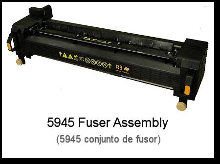 5945 Fuser Rebuild Header
