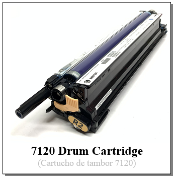 7120 Drum Cartridge Rebuild Header