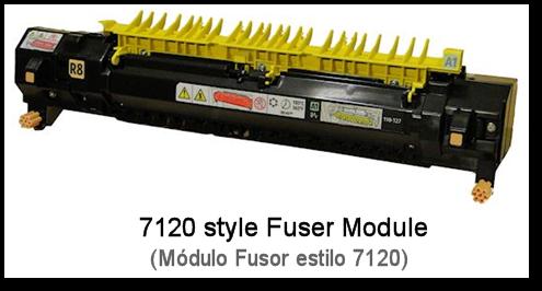 7120 Fuser Rebuild Instructions - Header
