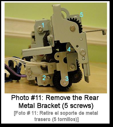 7525 Fuser Rebuild Instructions Photo 11