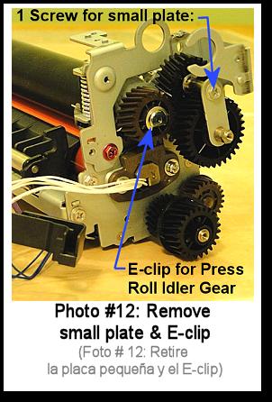 7525 Fuser Rebuild Instructions Photo 12