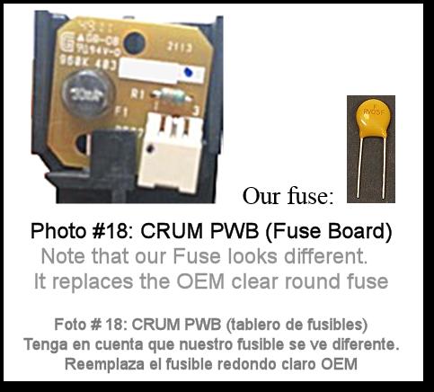 7525 Fuser Rebuild Instructions Photo 18