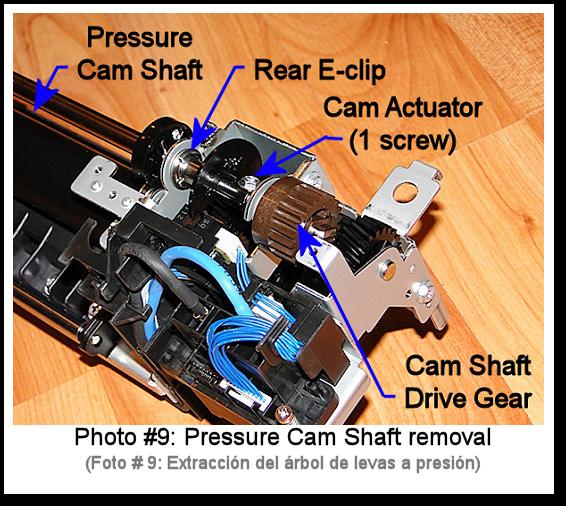 7525 Fuser Rebuild Instructions Photo 9
