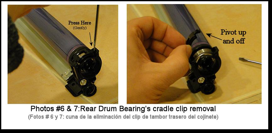 7425 Drum Cartridge Rebuild Photo #6-7