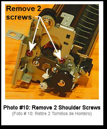 7525 Fuser Rebuild Instructions Photo 10