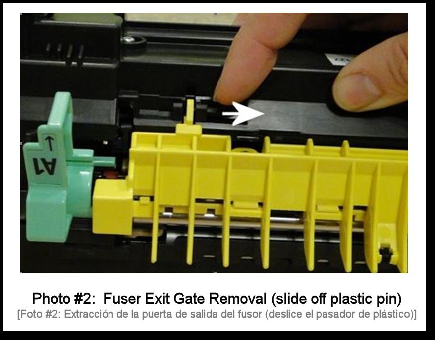 7525 Fuser Rebuilding Photo 2