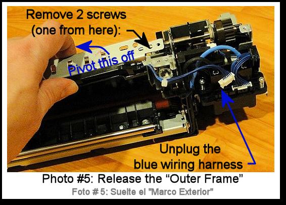 7525 Fuser Rebuild Instructions Photo 5