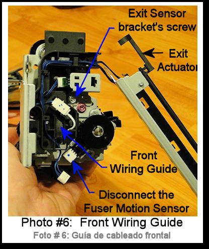 7525 Fuser Rebuild Instructions Photo 6
