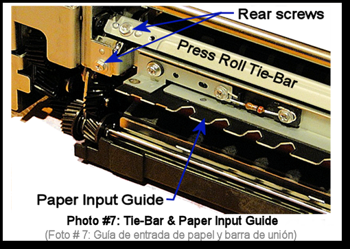 7525 Fuser Rebuild Instructions Photo 7
