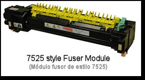 7525 Fuser Rebuilding Header