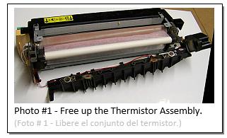 C35 Fuser Thermistor Repairs Photo #1