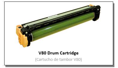 V80 Drum Catridge Header