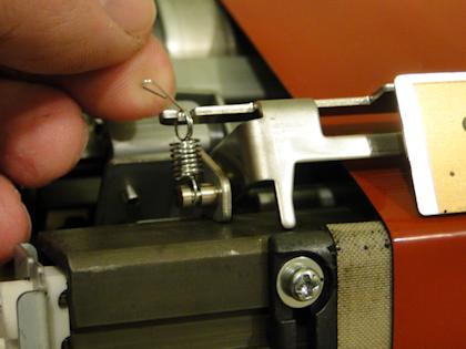 V80 Heat Belt Unit Stripper Plate Springs