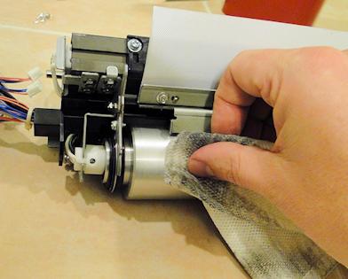 V80 Heat Belt Slip Sheet lubrication