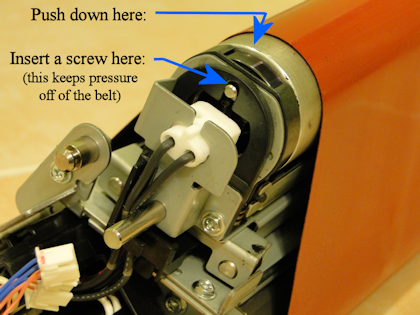 V80 Heat Belt Unit- Relieving Tension 1